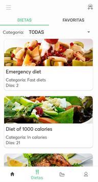 Dietas para adelgazar captura de pantalla 1