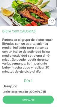 Dietas para adelgazar captura de pantalla 2