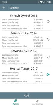 Car expenses screenshot 23