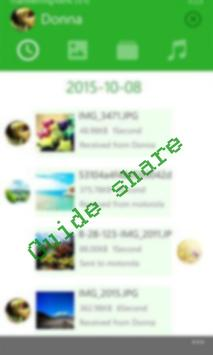 Guidance to Xender-Share File Transfering tips screenshot 2