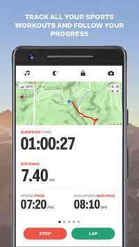 Sports Tracker screenshot 1