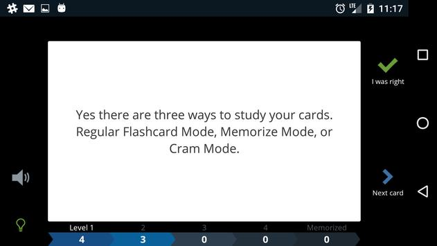 Cram.com Flashcards تصوير الشاشة 6