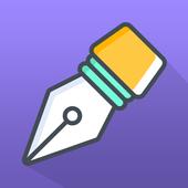 WriteDown-icoon