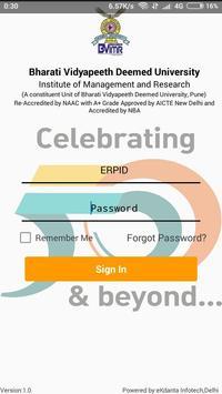 BVIMR Campus poster