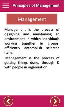 Principles of Management - POM poster