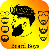 Beard Boys Photo Editor icône