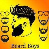 Beard Boys Photo Editor biểu tượng