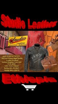 Studio Leather poster