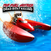 Top Fuel Hot Rod - Drag Boat Speed Racing Game icon