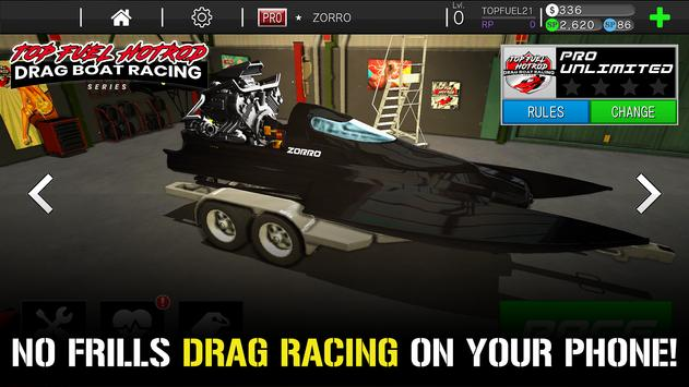 Top Fuel Hot Rod - Drag Boat Speed Racing Game-poster