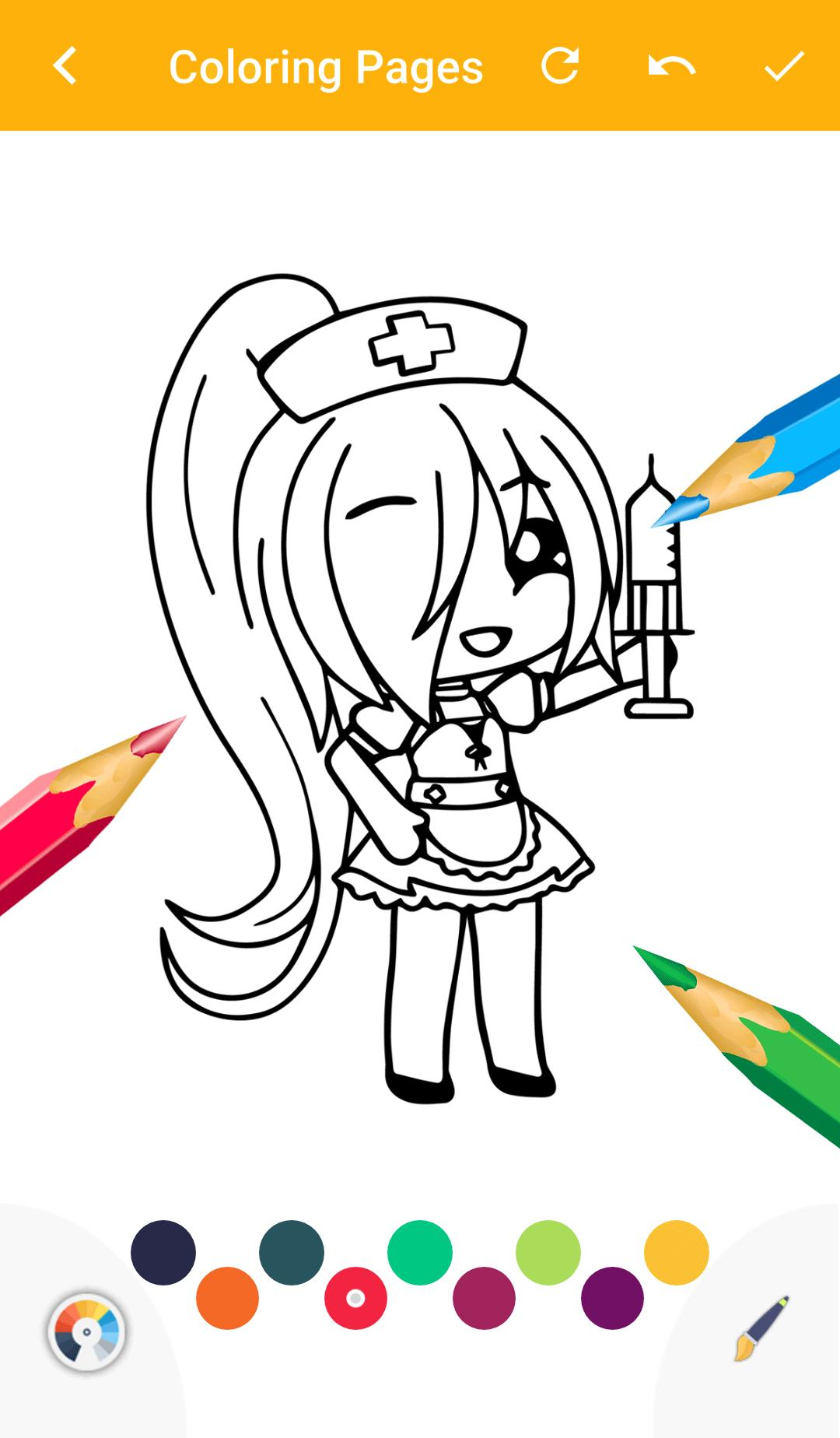 Gacha Coloring Book Game For Android Apk Download