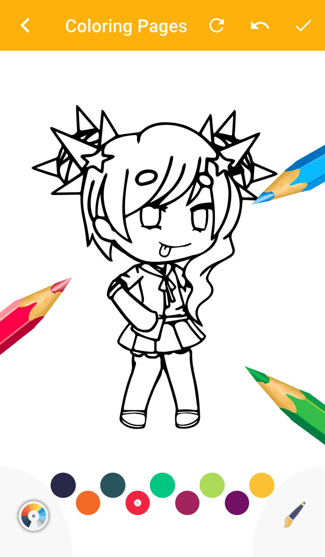 Gacha Coloring Book Game for Android - APK Download