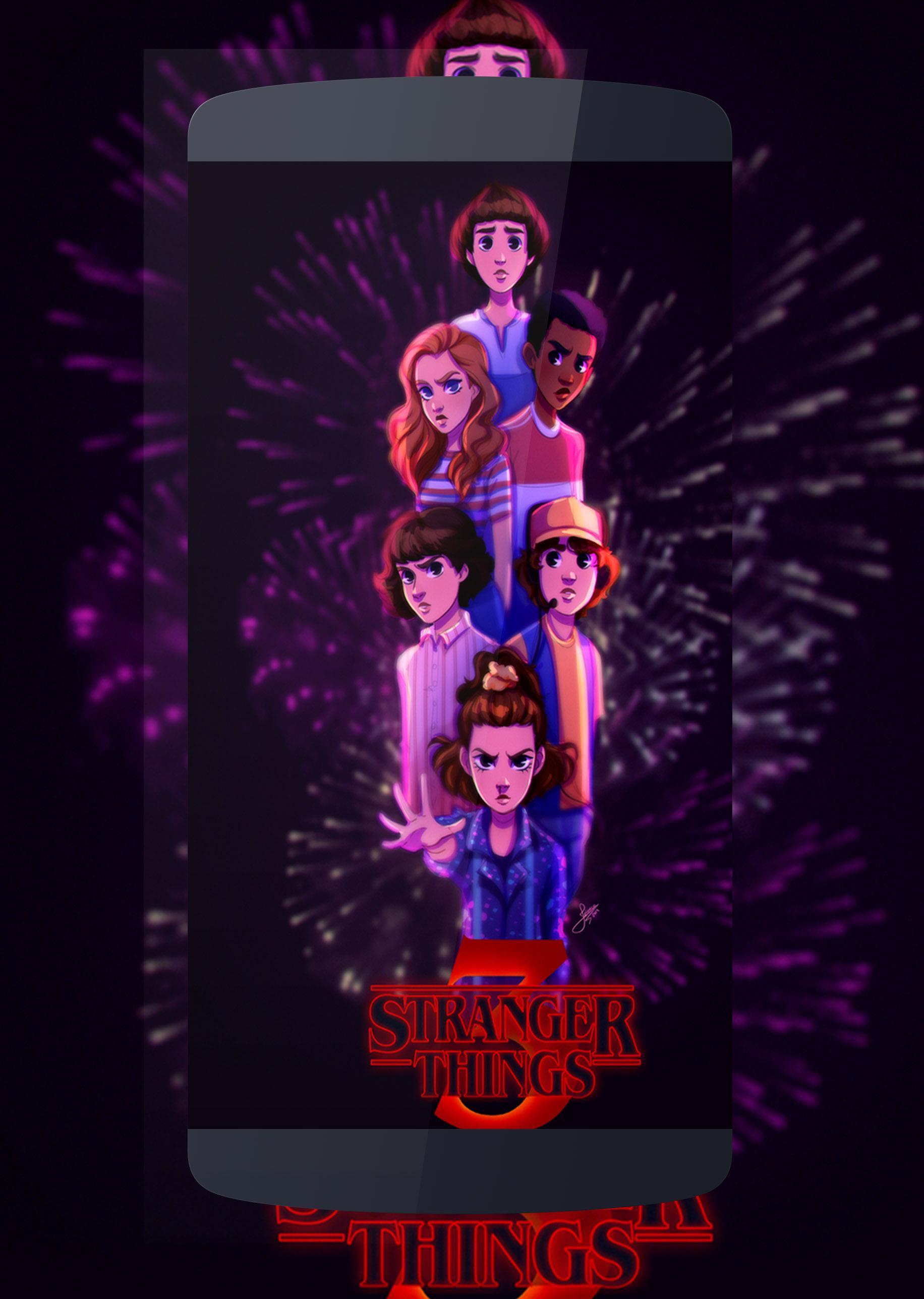 Stranger Things 4k Wallpapers Fan Art For Android Apk Download