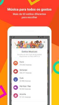 Palco MP3 imagem de tela 1