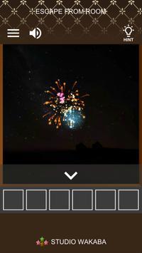 Escape Juego : Fuegos artificiales Sparkler captura de pantalla 5