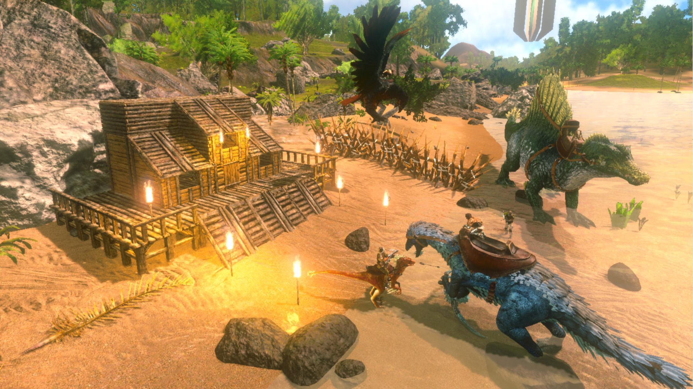 Hasil gambar untuk gambar game android ark survival evolved