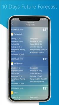 Weather Forecast - Clock and Widget 2019 screenshot 5