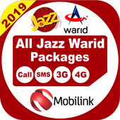 All Jazz Warid Network Packages 2019 icon