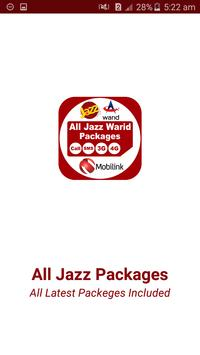 All Jazz Warid Network Packages 2019 poster