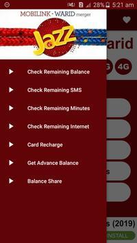All Jazz Warid Network Packages 2019 screenshot 2