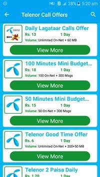 All Telenor Network Packages 2019 screenshot 3
