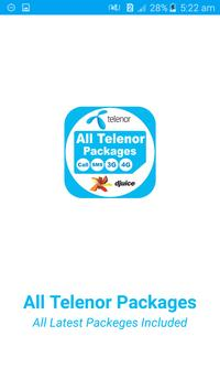 All Telenor Network Packages 2019 poster