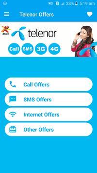 All Telenor Network Packages 2019 screenshot 1