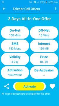 All Telenor Network Packages 2019 screenshot 4