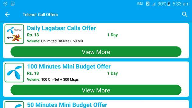 All Telenor Network Packages 2019 screenshot 5