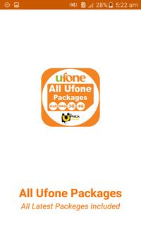 All Ufone Network Packages 2019 poster
