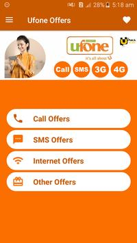 All Ufone Network Packages 2019 screenshot 1