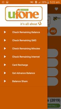All Ufone Network Packages 2019 screenshot 2