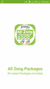 All Zong Network Packages 2019 poster