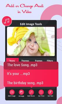 Photo To Video Maker With Songs & Music screenshot 6