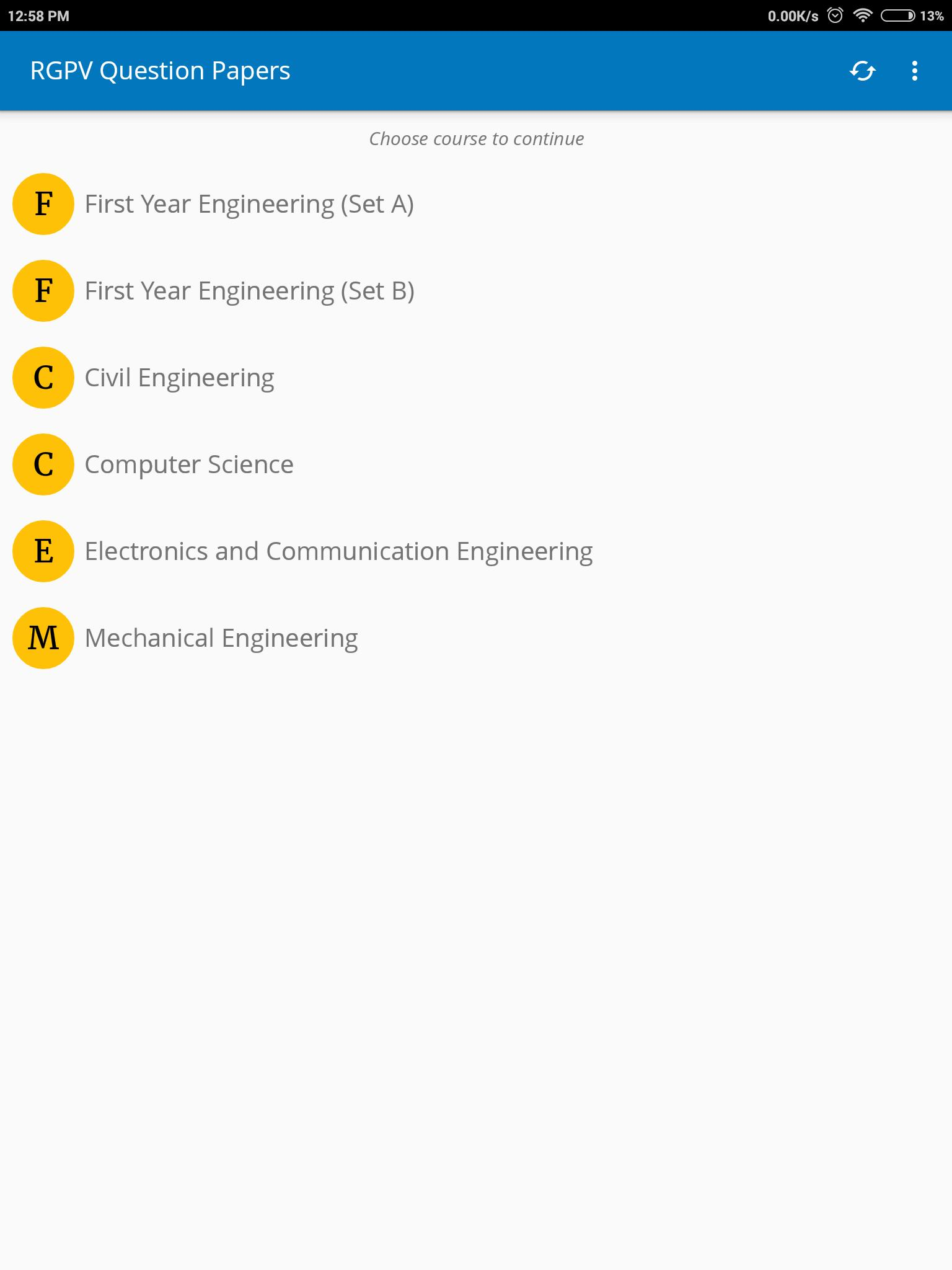 RGPV Question Papers for Android - APK Download