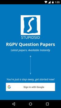 RGPV Question Papers poster