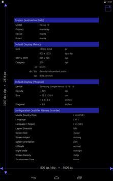 Screen Size / DPI and Dev Info screenshot 2