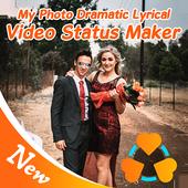 My Photo Dramatic Lyrical Video Status Maker icon