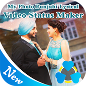 My Photo Punjabi Lyrical Video Status Maker icon