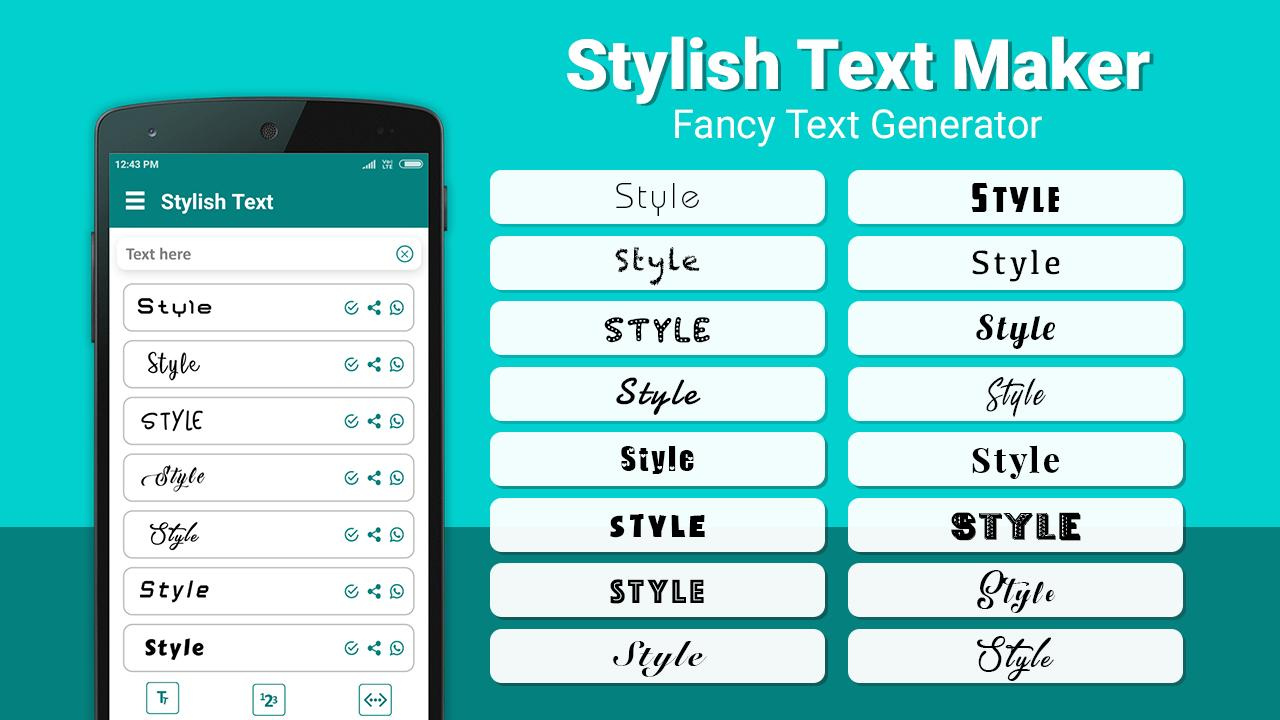 Stylish Text for Android - APK Download
