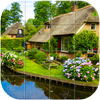 Rural Houses Puzzle icon