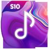 Icona S10 Music Player Galaxy S10 S9 Plus Free Mp3 Music