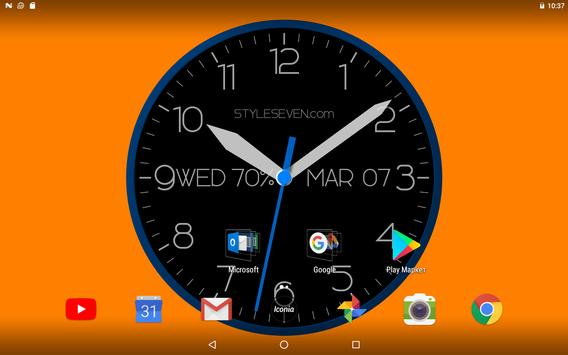 0e63ac6ea Modern Analog Clock-7 for Android - APK Download