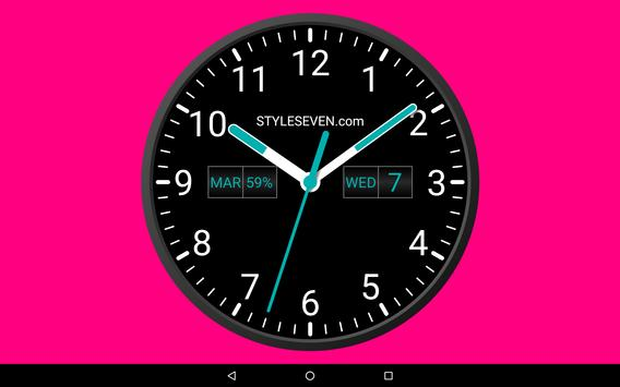 b169997ef Analog Clock Widget Plus-7 for Android - APK Download
