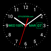 20bcf7a88 Analog Clock Live Wallpaper-7 for Android - APK Download