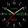 Analog Clock Live Wallpaper-7 simgesi