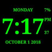 Digital Clock Live Wallpaper-7 icon