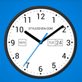 Light Analog Clock LW-7 icon