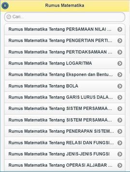 Rumus Matematika screenshot 3