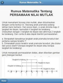 Rumus Matematika screenshot 1